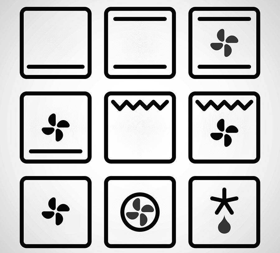 Dit is wat de symbolen op je oven betekenen!